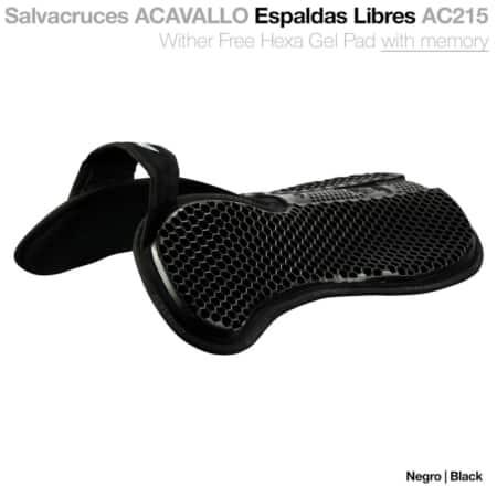 Acavallo Hexa Gel pad med memory foam