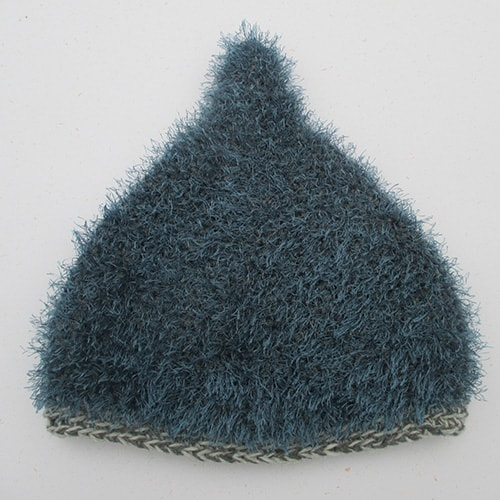 Blå Spidshue